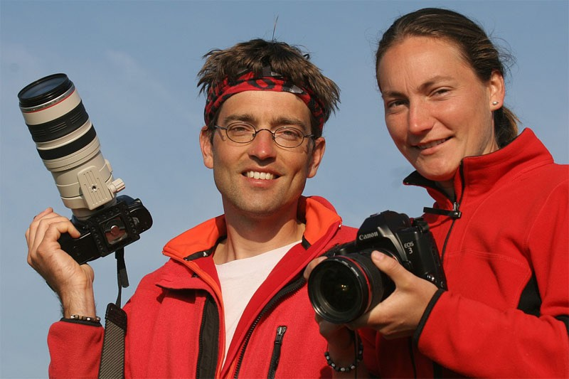 Barbara Vetter und Vincent Heiland