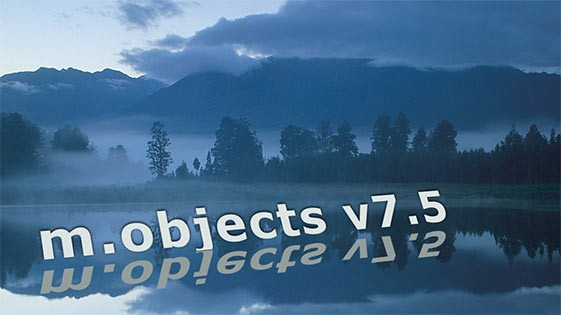 Die neue m.objects-Version 7.5